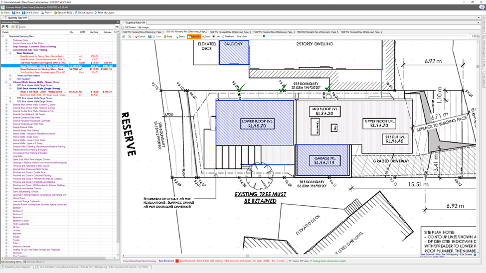 building estimating software